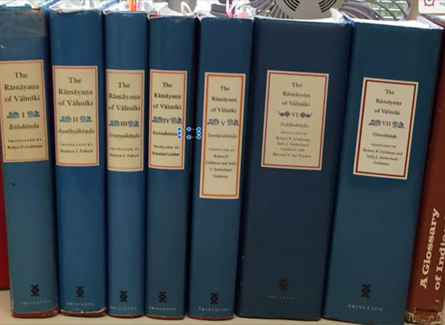 With publication of its final product, the Ramayana Translation Project is shelved.