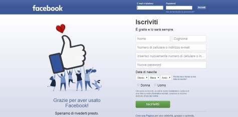 contatti facebook