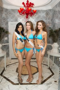 Shilpa Singh in Bikini at Miss Universe 2012