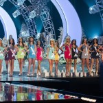 Shilpa Singh along with Top 16 Contestants at Grand Finale of Miss Universe 2012