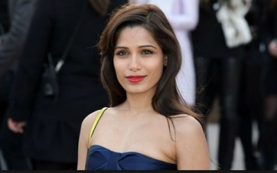Model and Actress Freida Pinto