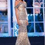 Miss Universe Maria Gabriela Isler in Evening Gown