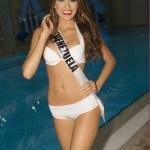 Miss Universe Maria Gabriela Isler in Swimsuit
