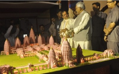 Virat Ramayana Temple Full Model and Architecture