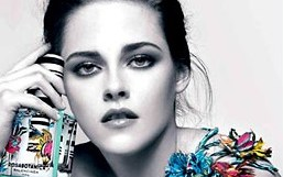 Kristen Stewart topless in Balenciaga's Rosabotanica Ad
