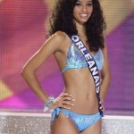 Miss France Flora Coquerel in Bikini