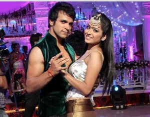 Rithvik Dhanjani and Asha Negi  in Nach Baliye 6