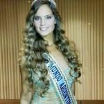 Yoana Don Marozzi after winning the Miss Argentina Title