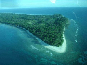 A Bird's Eye View of of Andaman Island