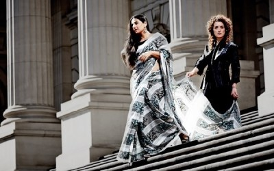 Vidya Balan in a Photoshoot with Designer Susan Dimasi