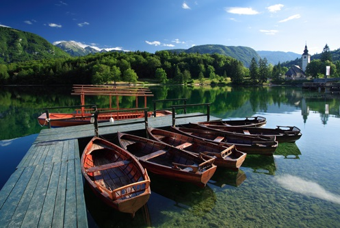 The Famous Lake Bohinj of Slovenia