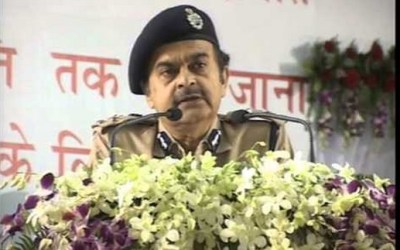 Former Bihar DGP Abhayanand at a function
