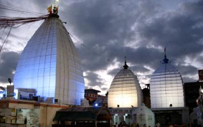 Dusk View of Baba Mandir at Deoghar