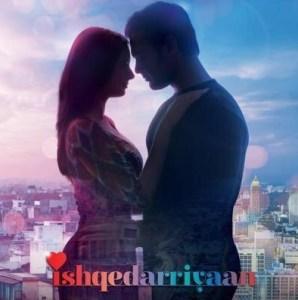Ishqedarriyaan Movie Poster starring Evelyn and Mahaakshay Chakraborty