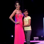 Teejay Sidhu walking the Ramp for Arshana Kochhar
