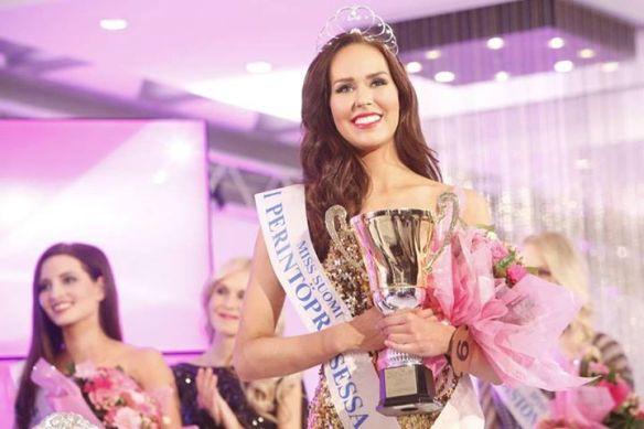 Carola Miller Miss Finland 2015 1st Runner Up