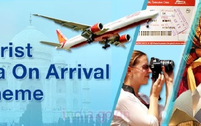 Tourist Visa on Arrival in India