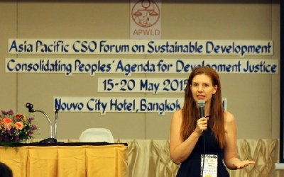 Kate Lappin leads Asia Pacific Forum on Women, Law and Development