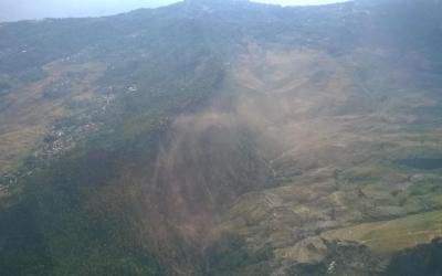 Landslides in Nepal after May 12 Earthquake
