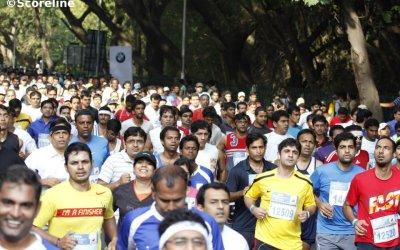Participants of TCS World 10K Run 2014
