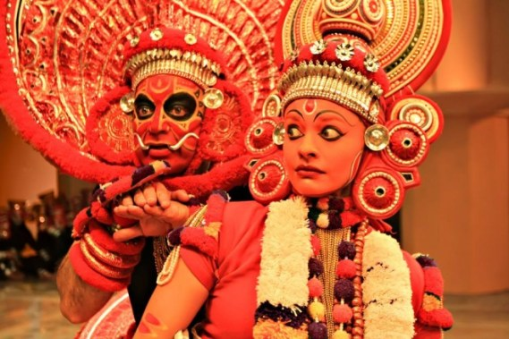 A still from Tamil Movie Uttama Villian