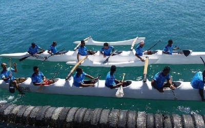 Team Fiji practising for Pacific Games 2015