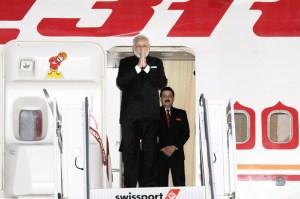 Prime Minister Narendra Modi arrives at John F Kennedy International Airport, New York on September 23, 2015.