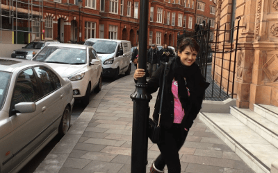Actress Nisha Rawal poses for a Photoshoot in London