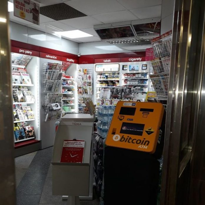 Prague Subway System Now Has Ten New Bitcoin ATMs