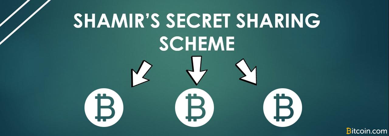 El secreto de Shamir explicado: distribuir una frase de semilla en varias partes