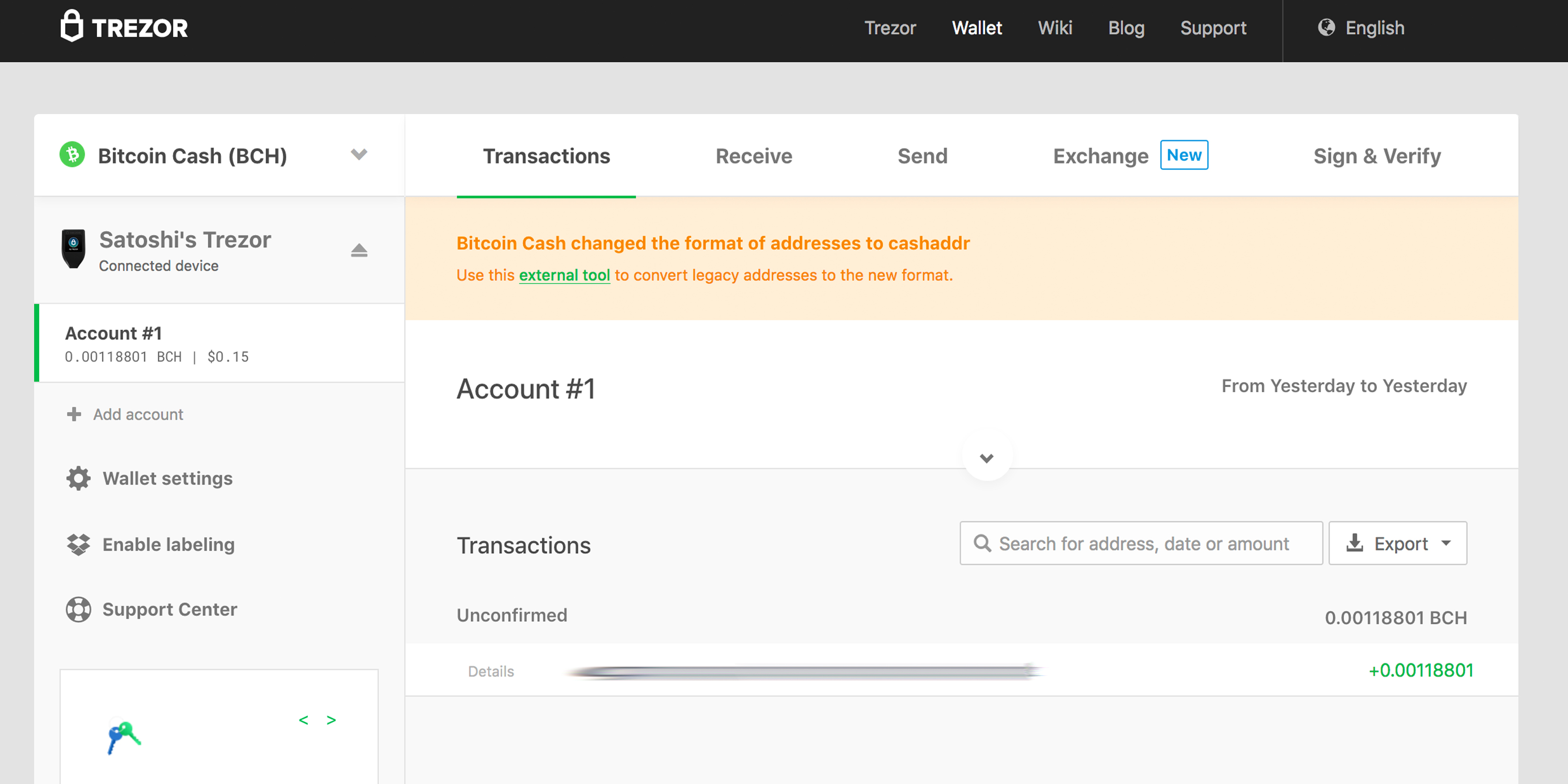 An In-Depth Look at the Trezor Model T Hardware Wallet