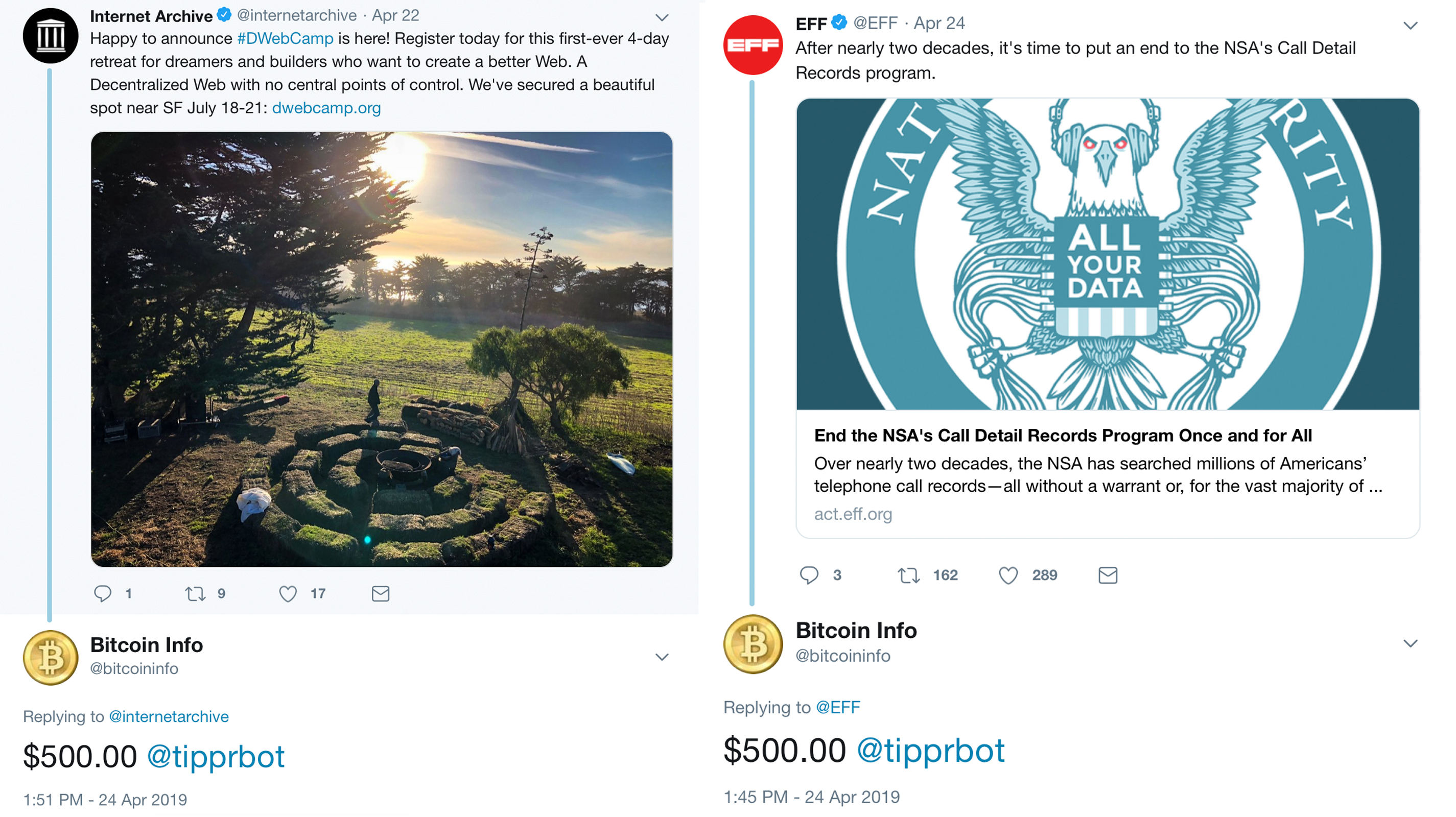 Old Twitter Account Gives Away $10K in Bitcoin Cash in 48 Hours