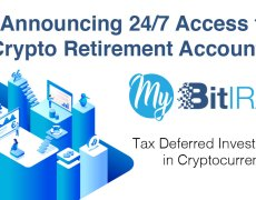 PR: My BitIRA Launches to Empower US Consumers With 24/7 Cryptocurrency Retirement Account Access - Bitcoin News