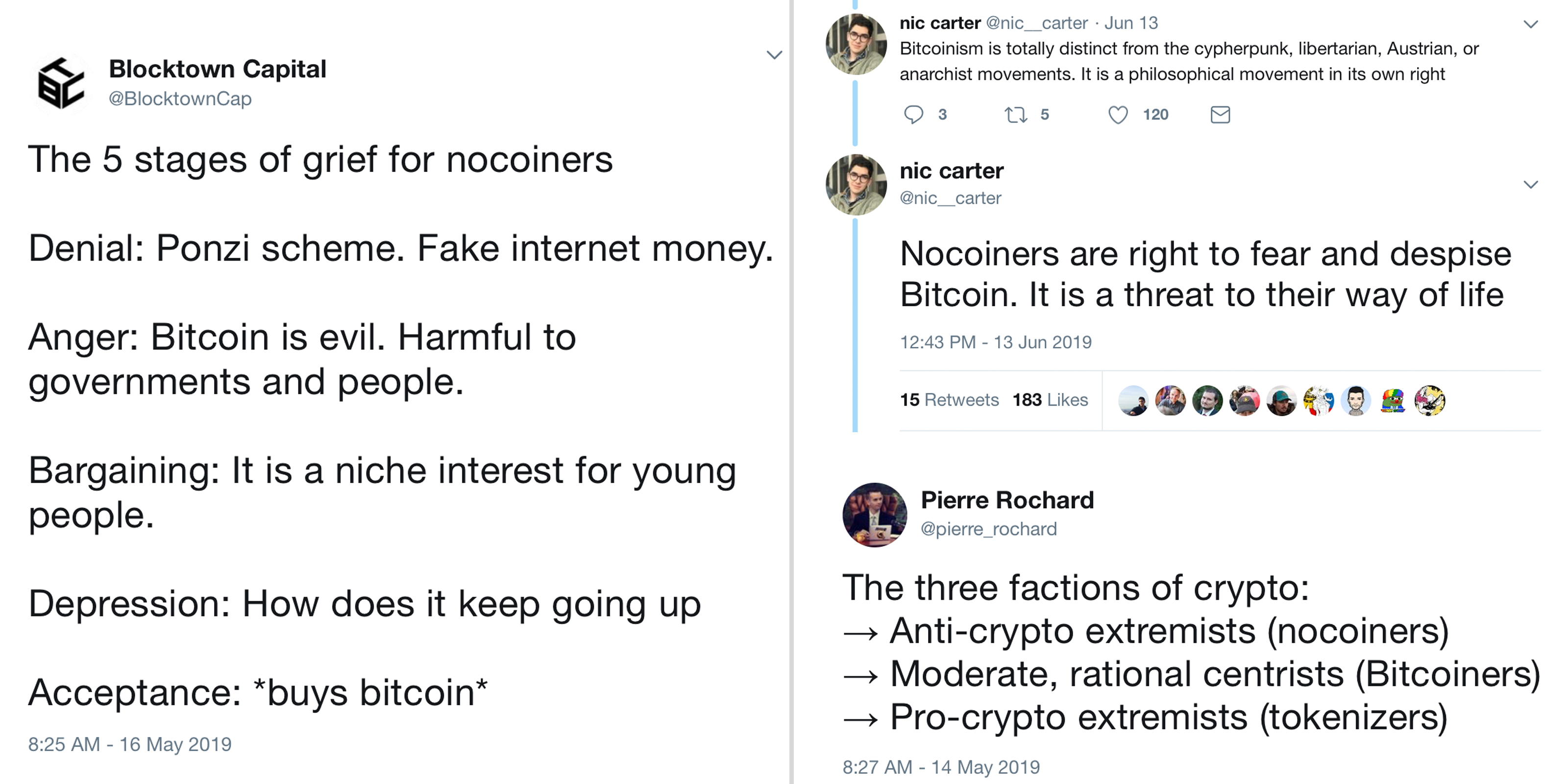 Ignore Crypto Twitter – Life as a Nocoiner Isn't That Bad