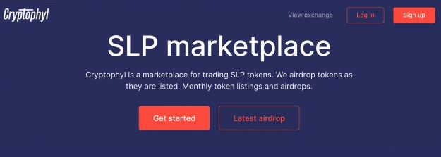Cryptophyl.com Launches Dedicated Exchange for SLP Tokens and BCH