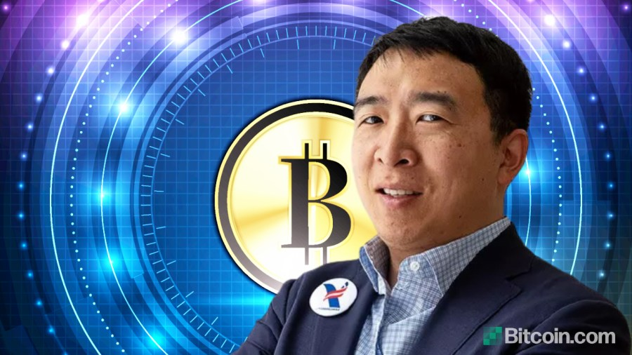 Candidate for Mayor Andrew Yang Plans to Make New York City a Bitcoin Hub