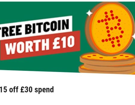 Free Bitcoin: Papa John's Giving Away BTC With Pizza Purchases in UK