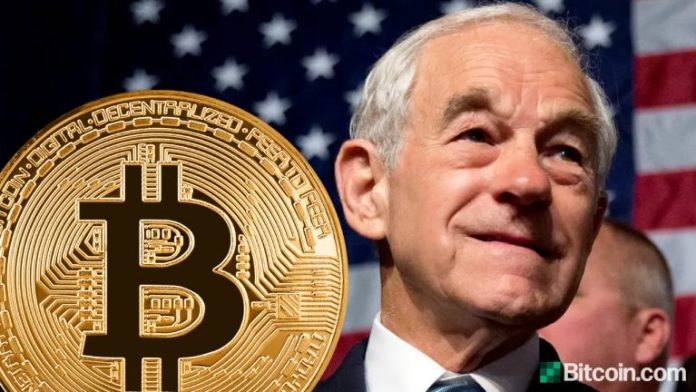 Ron Paul Wants Bitcoin Totally Legalized to Compete With Dollar and Let the People Decide