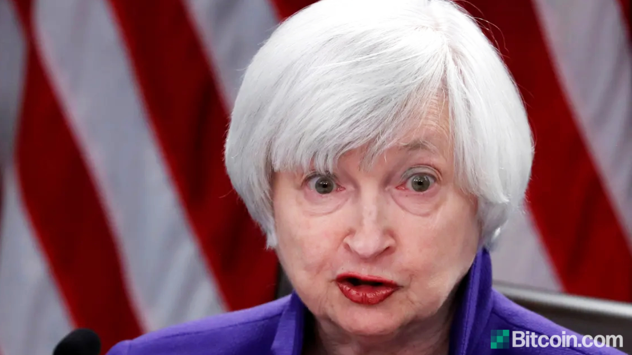 Treasury Secretary Yellen Says US Does Not Have Framework 'up to the Task' of Regulating Cryptocurrencies