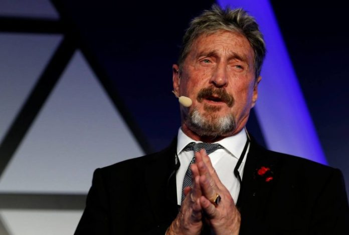 McAfee Plans to Launch a Distributed Exchange With No Restrictions