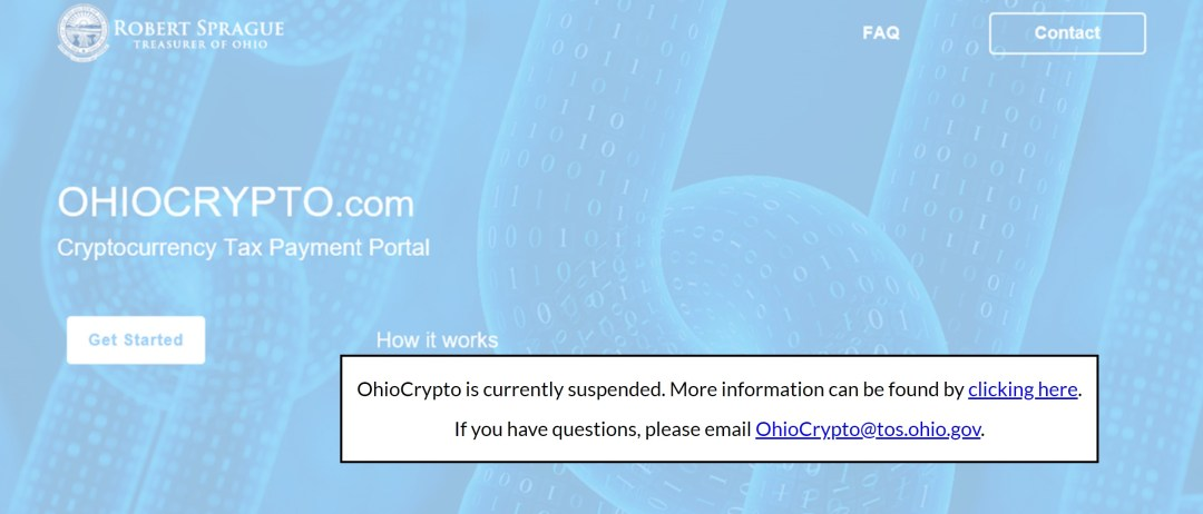 Ohio Crypto Program Hits a Snag, Attorney General Finds It Illegal
