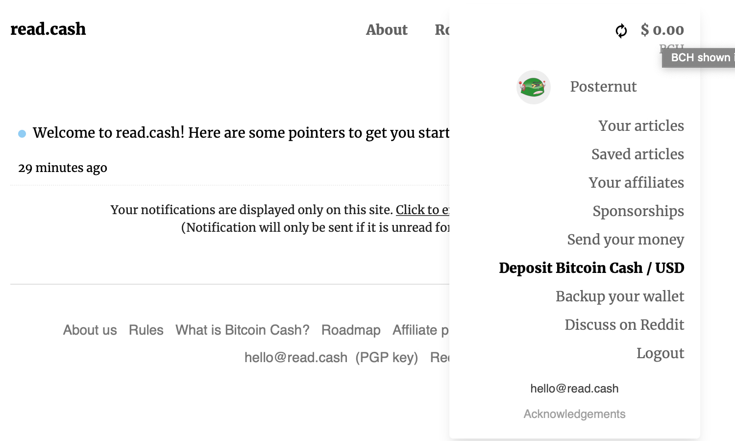 Read.cash Platform Rewards Content Creators With Bitcoin Cash Incentives