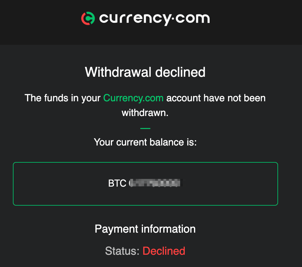 Currency.com Accused of Exploiting KYC to Withhold Customer Funds