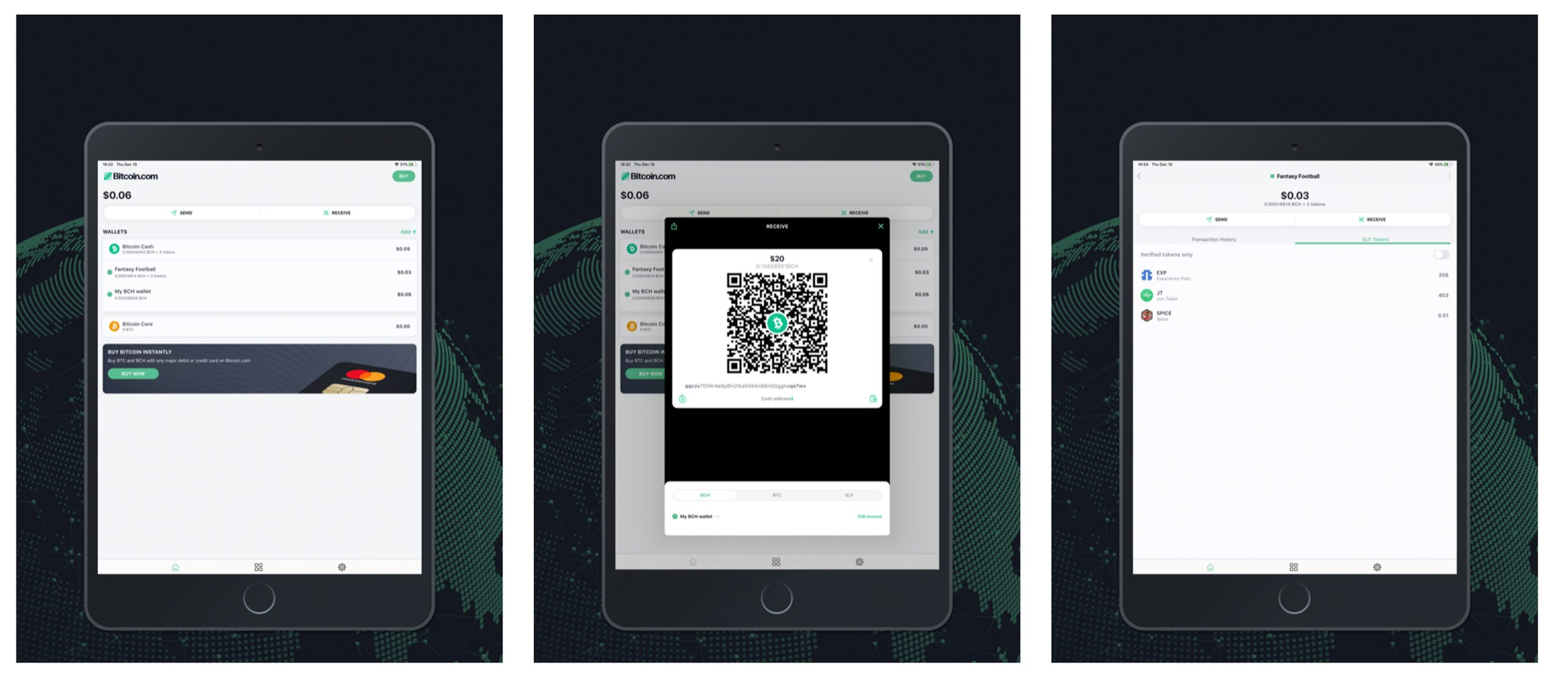 Latest Bitcoin.com Wallet Release Features Live Charts and Price Tracking