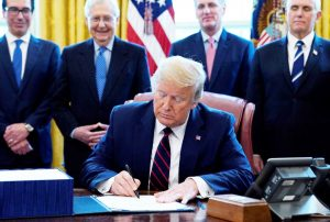 Trump Signs Largest Bill in US History — When Will Americans Get Stimulus Checks