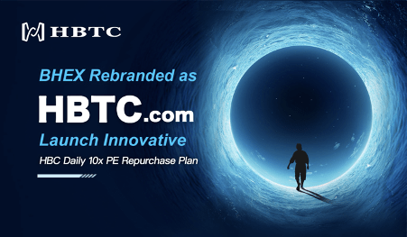 BHEX Rebranded as HBTC Exchange & Launch Innovative HBC 10x PE Repurchase Plan
