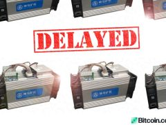 Bitcoin Miners Reveal Concerns Over Mining Rig Shipment Delays and Bitcoin Halving