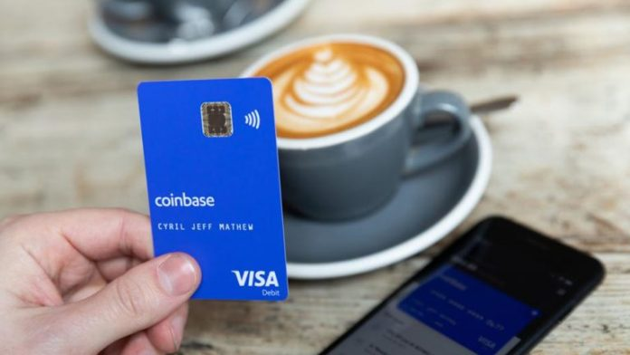 Coinbase Launches Cryptocurrency Visa Card in the US