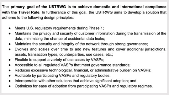 Prepping for Next Year's Travel Rule: 25 US Crypto Service Providers Publish Compliance Solutions Paper