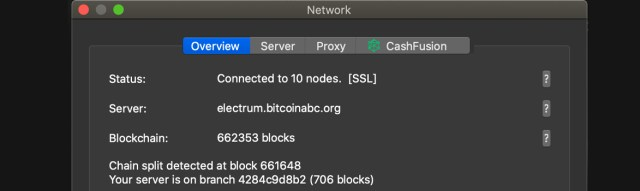 Step-by-step guide to split the ABC fork token from Bitcoin Cash
